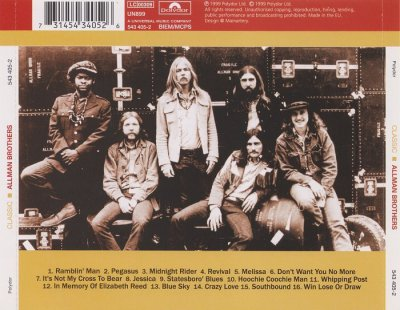 The Allman Brothers Band - Classic Allman Brothers (1999)