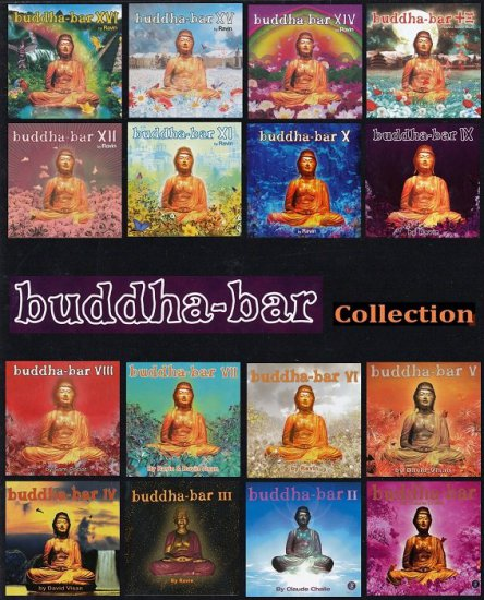 VA - Buddha-Bar Collection I-XVI [32CD] (2000-2014)