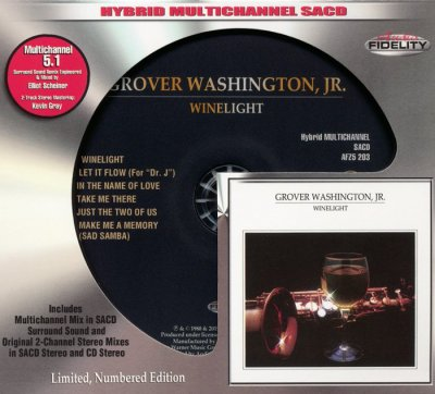 Grover Washington, Jr. - Winelight (1980)  [2015 Audio Fidelity SACD]