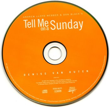 Andrew Lloyd Webber - Tell Me On A Sunday (2003)
