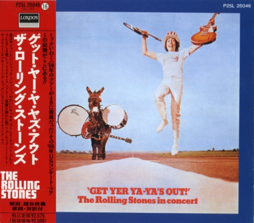 The Rolling Stones - Get Yer Ya-Ya's Out! [Japanese Edition] (1970)
