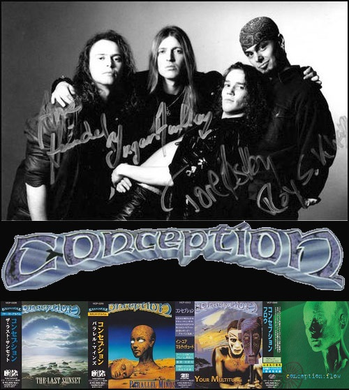 Conception - Discography [Japanese Edition] (1991-1997)