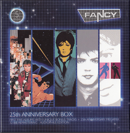 FANCY - 25th Anniversary Box (PL 5 x CD 2010 4everMUSIC klub80 Records • 141-145)