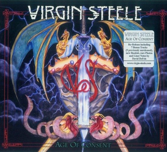 Virgin Steele- Age Of Consent (1988) [2CD, Reissued 2011]