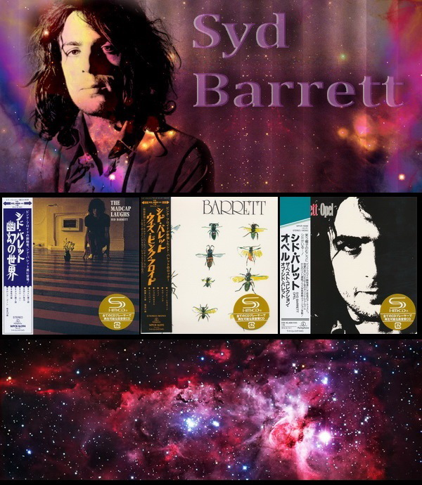 Syd Barrett: 3 Albums - Mini LP SHM-CD Warner Music Japan 2015