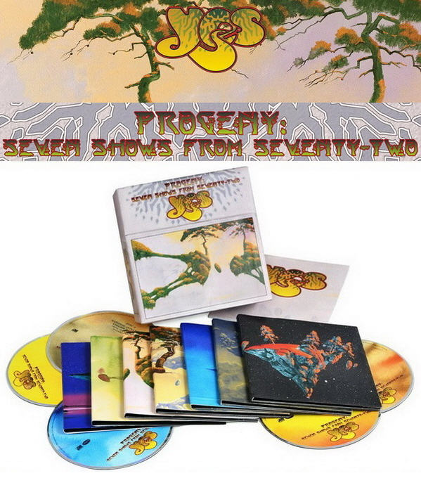 Yes: Progeny - Seven Shows From Seventy-Two / 14CD Box Set Rhino Records 2015
