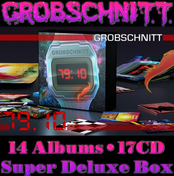 Grobschnitt 79:10 - 17CD Super Deluxe Box Set Brain Records 2015