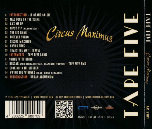 Tape Five - Circus Maximus (2015)