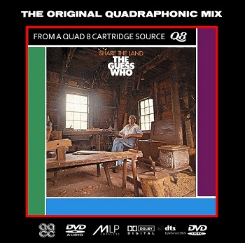 The Guess Who - Share The Land [DVD-Audio] (1970)
