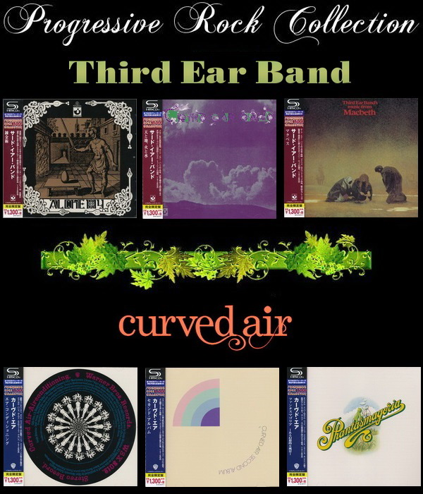 Third Ear Band / Curved Air: Progressive Rock Collection - Warner Music Japan 2015