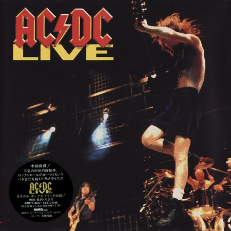 AC/DC - Live (2CD) [Japanese Edition] (1992)