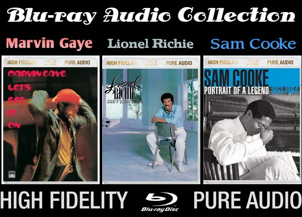 Marvin Gaye / Lionel Richie / Sam Cooke - Blu-ray Audio Collection