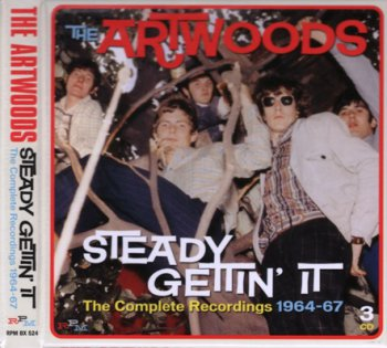 The Artwoods - Steady Gettin' It: The Complete Recordings 1964-67 3CD (2014)