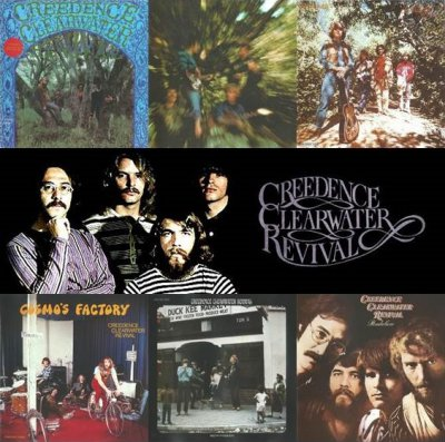 Creedence Clearwater Revival - 6 Albums (40th Anniversary Edition) - 2008