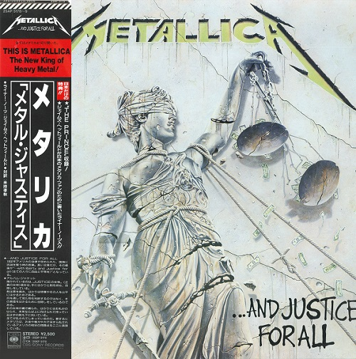 Metallica - ... And Justice For All [CBS/Sony, Jap, 2LP (VinylRip 32/192)] (1988)