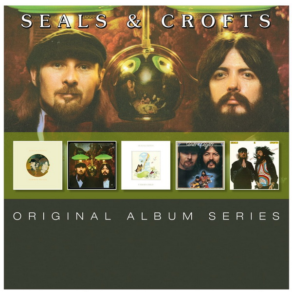 Seals & Crofts: Original Album Series - 5CD Box Set Rhino Records 2015