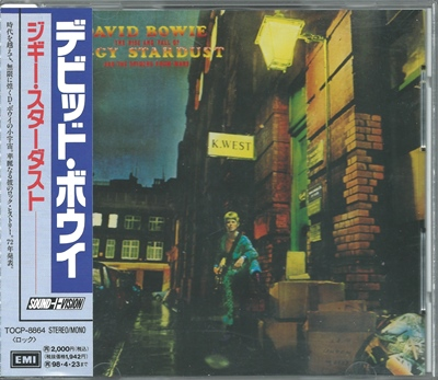 David Bowie - Ziggy Stardust And The Spiders From Mars - 1972 (Japan, TOCP-8864)