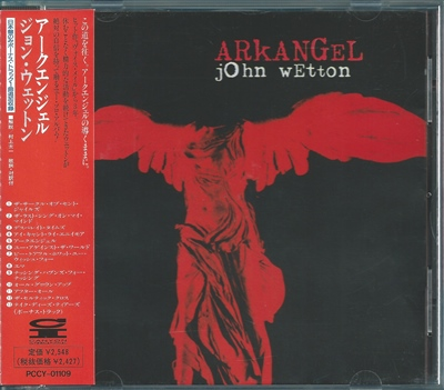 "John Wetton - ""Arkangel"" - 1997 (Japan, PCCY-01109)"