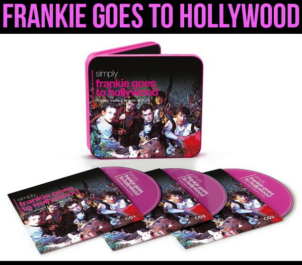 2015 Simply Frankie Goes To Hollywood: The Hits, Tracks & Remixes On 3CDs - 3CD Box Set Union Square Music