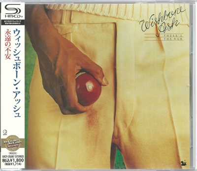 "Wishbone Ash - ""There's the Rub"" - 1974 (Japan, UICY 25387)"