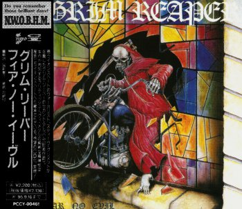 Grim Reaper - Fear No Evil 1985 (Pony Canyon/Japan 1993)