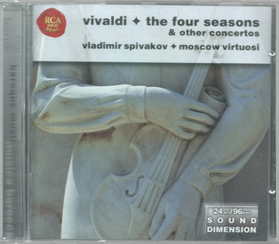 "V.Spivakov & ""Moscow Virtuosi""  Vivaldi ""The Four Seasons"" & Other concertos - 1988"