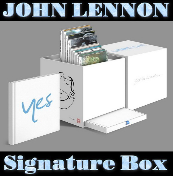 John Lennon: Signature Box - 11CD Box Set EMI Records 2010