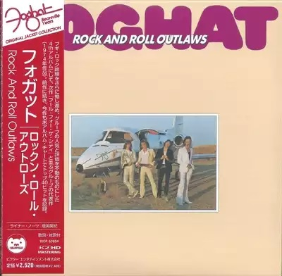 "Foghat - ""Rock And Roll Outlaws"" - 1974 (VICP-63894)"