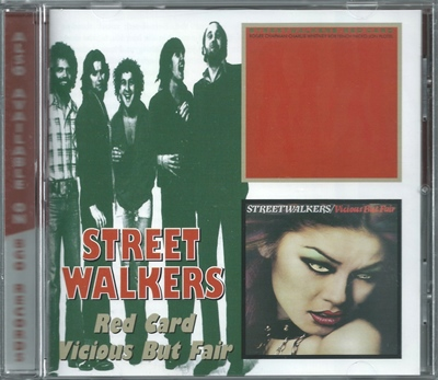 "Streetwalkers - ""Red Card + Vicious But Fair"" - 1976/77 (BGOCD 669)"