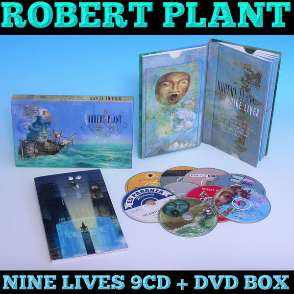 Robert Plant: Nine Lives - 9CD + DVD Box Set Rhino Records 2006