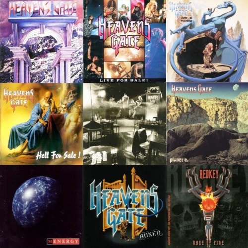Heavens Gate  - Discography (1989-1999) + Redkey (2006)
