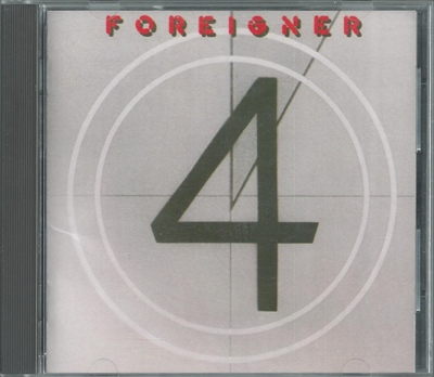 Foreigner - 4 - 1981 (non-remastered, Japan 20P2-2021)
