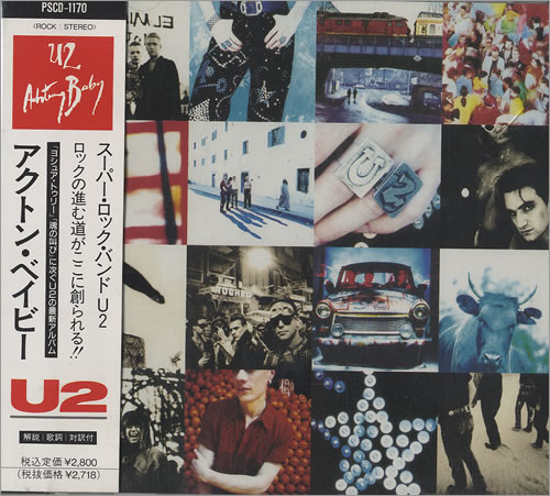 U2 - Achtung Baby [Japanese Edition] (1991)