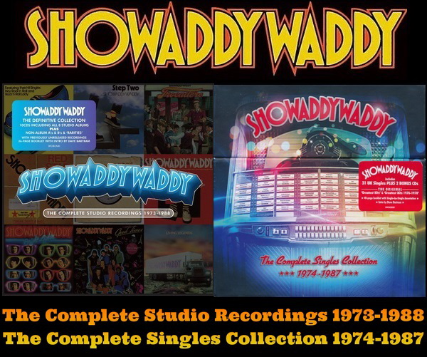 Showaddywaddy - 2013 Complete Studio Recordings 1973-1988 / 2015 Complete Singles Collection 1974-1987