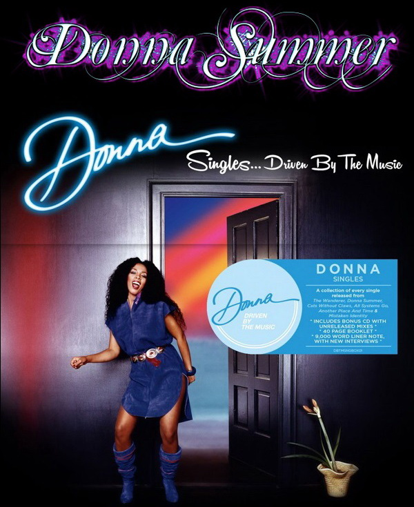 Donna Summer: Singles... Driven By The Music - 24CD Box Set Driven By The Music 2015