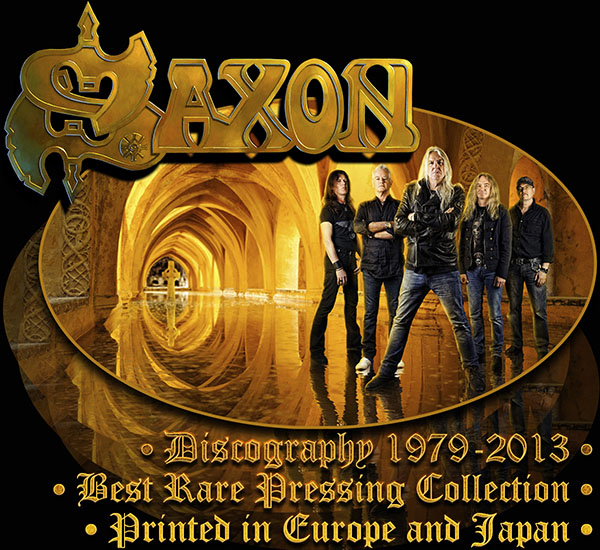 SAXON - Discography (39 x CD • Best Rare Pressing • 1979-2013)