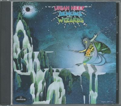 Uriah Heep - Demons And Wizards - 1972 (Mercury 812 297-2)