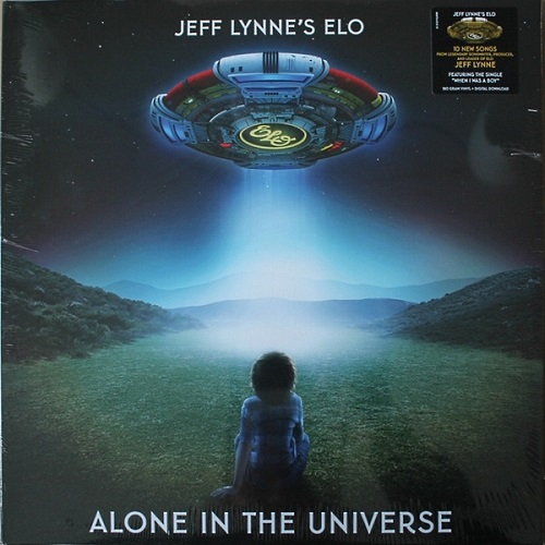 Jeff Lynne's ELO - Alone in the Universe [RCA, EU, LP (VinylRip 24/192)] (2015)