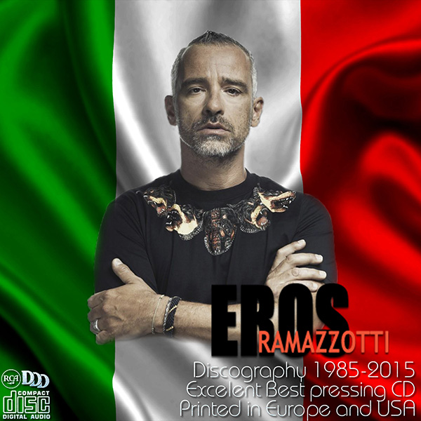 EROS RAMAZZOTTI «Discography» (28 x CD • DDD Dischi Ricordi • 1985-