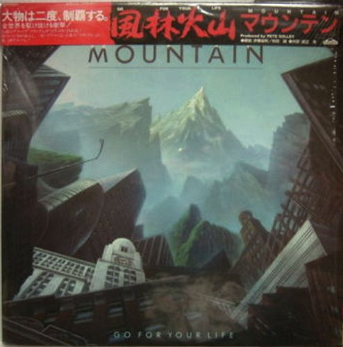 Mountain - Go For Your Life [Canyon, Jan, LP (VinylRip 24/192)] (1985)