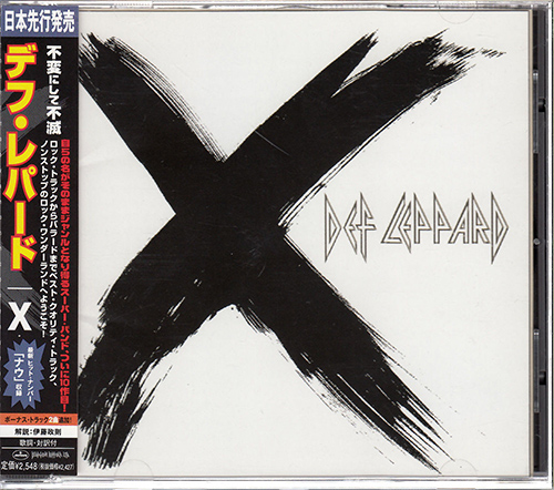 DEF LEPPARD «Discography» + bonus (15 x CD • Japan 1st Press • 1980-2019)