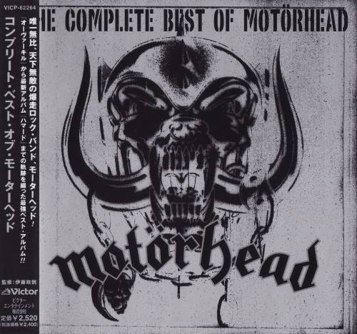 Motorhead - The Complete Best Of Motorhead [Japanese Edition] (2003)