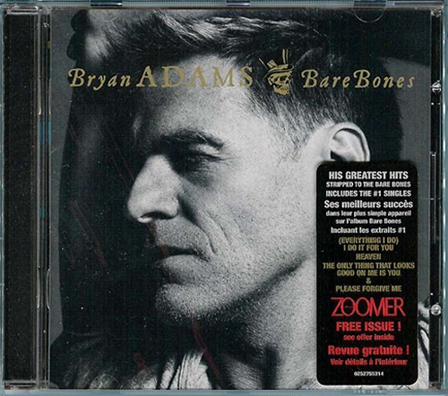 BRYAN ADAMS «Discography 1980-2015» (20 x CD • A&M Records, Inc. • Issue 1987-2015)