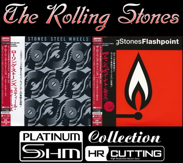 The Rolling Stones - 2 Albums Mini LP Platinum SHM-CD 2015
