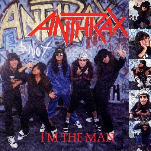 Anthrax - I'm The Man EP (1987)