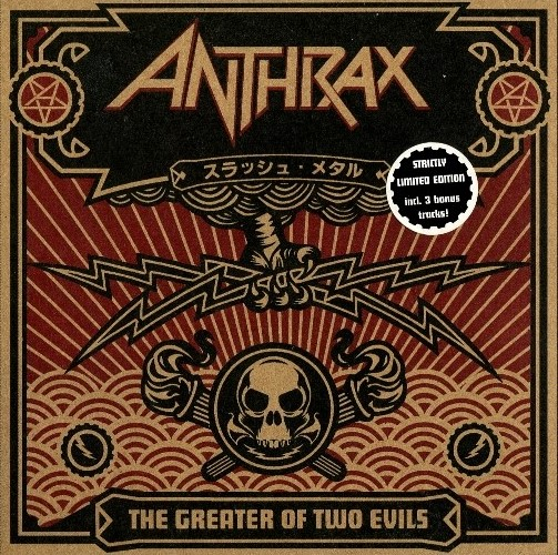 Anthrax - The Greater Of Two Evils (1994) [2CD]