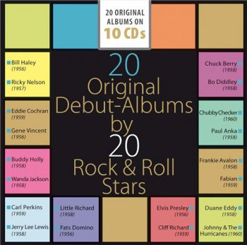 VA - 20 Original Debut Albums by 20 Rock & Roll Stars (2015)