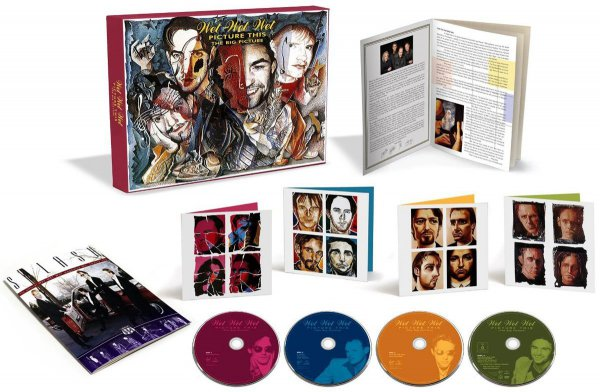 Wet Wet Wet: 1995 Picture This - 3CD + DVD Super Deluxe Box Set Virgin Records 2015