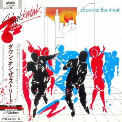 Shakatak - Down On The Street [Japan Mini LP PT-SHM] (2014)