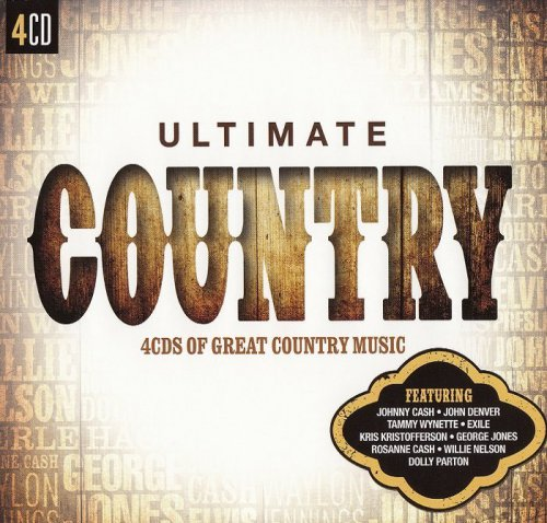 VA - Ultimate Country: 4CDs of Great Country Music (2015)